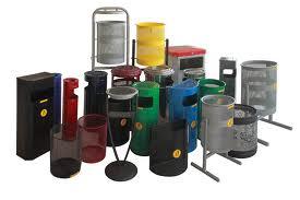 شراء سلات القمامة للشوارع والميادين العامة